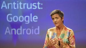 Multa rècord a Google: 4.340 milions d'euros