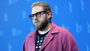 El actor Jonah Hill, en la Berlinale, donde presenta su primera película como director.