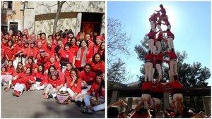 Els Castellers de Barcelona es tornen Castelleres