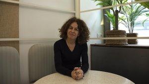 Agathe Leon, directora de Innovación de la Fundació TIC Salut Social.