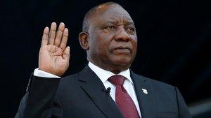 Ramaphosa jura el càrrec com a president de Sud-àfrica