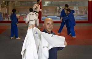 Ferran Agúndez, en el Centre de Tecnificació de Judo del Bages i Moianès.