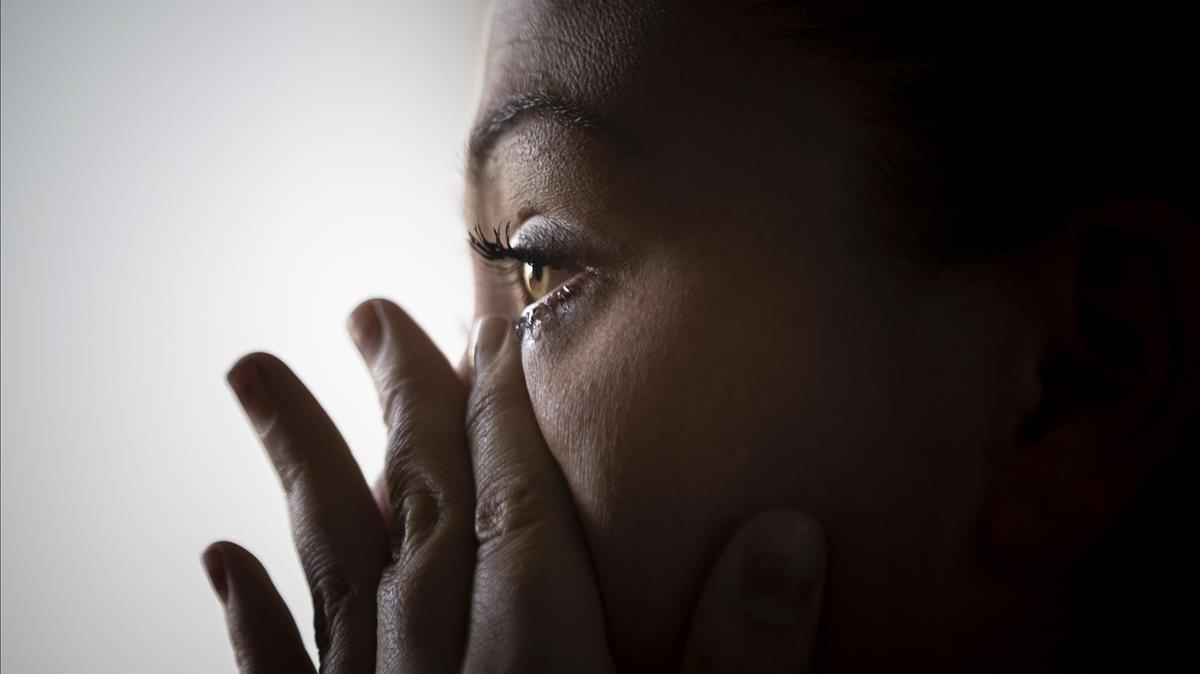María, víctima de violencia machista durante el confinamiento.