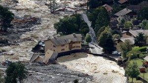 Pluges torrencials assolen el sud de França i el nord d'Itàlia