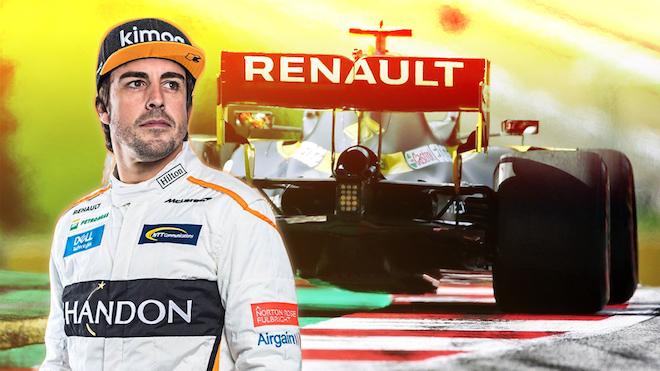 Fernando Alonso després d'oficialitzar-se el fitxatge: «Renault és la meva família»