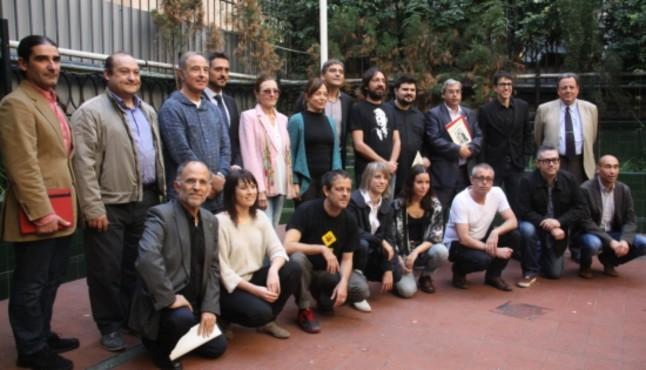 Equipo de Teatres Amics y colaboradores del proyecto