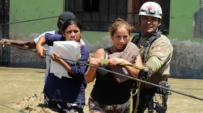 Les inundacions al Perú amb almenys 75 víctimes