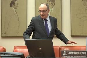 El gobernador del Banco de España, Luis María Linde.