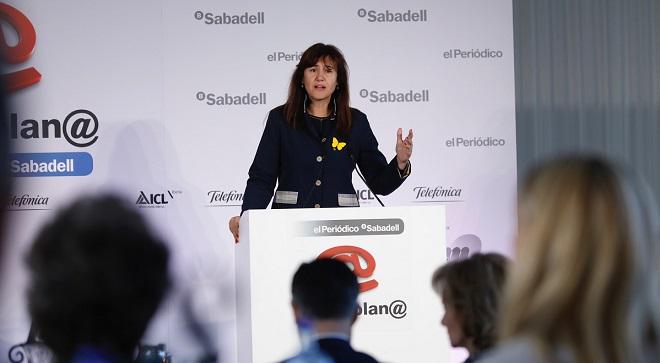 Borràs avisa Sánchez que JxCat li exigirà exercir l'autodeterminació