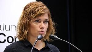 Elisenda Alamany, portavoz de Catalunya en Comú.
