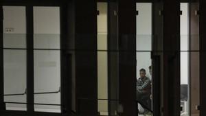 menores que estan en el interior de la Fiscalia de Menores de la Ciutat de la Justicia