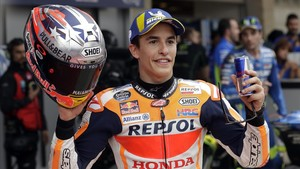 lainz43026604 marc marquez of spain poses for photos after qualifying fo180421224049