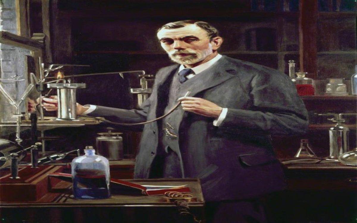 William Ramsay, el genio de la química, homenajeado por Google