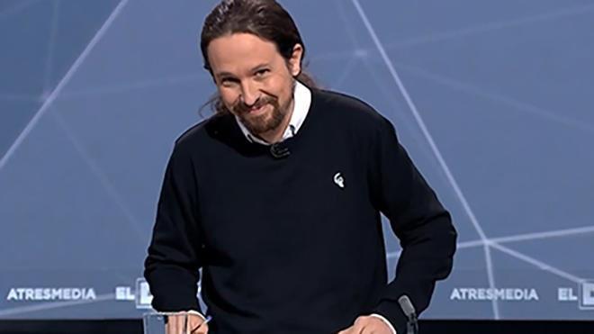 El discurs d'Iglesias contra la corrupció («legal i il·legal») deixa fora de joc Sánchez i Rivera