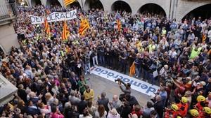 En un de cada tres municipis de Girona només es podran votar candidatures independentistes