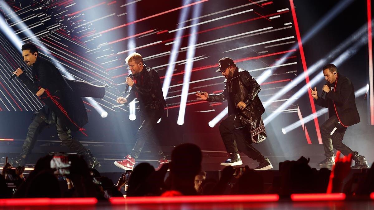 Actuación de Backstreet Boys en el Palau Sant Jordi