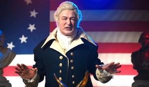Alec Baldwin, un George Washington muy trumpiano