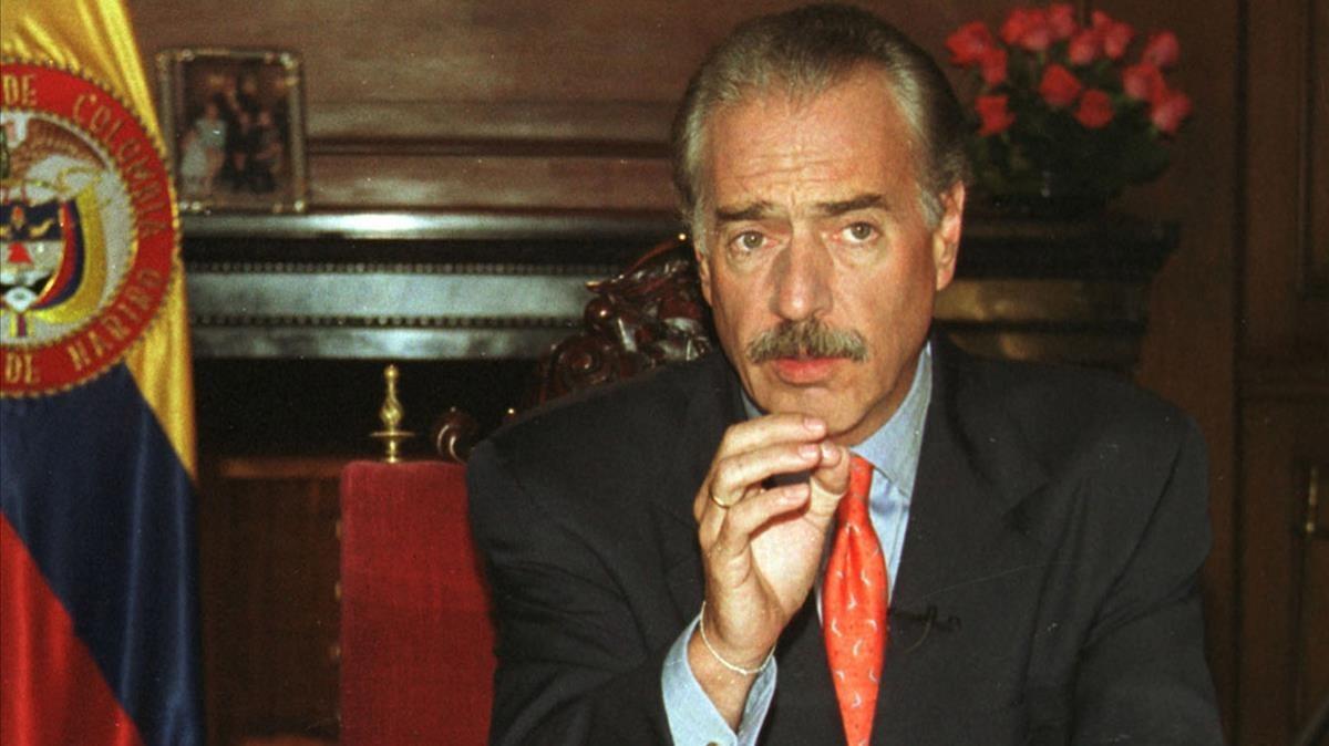 El expresidente Andrés Pastrana en una imagen de archivo.