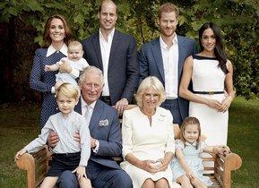 Así es la foto oficial por los 70 años del príncipe Carlos.