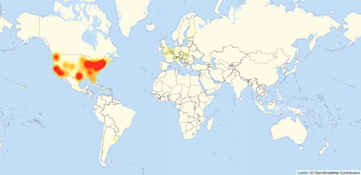 Un ciberatac massiu als EUA deixa sense servei grans webs