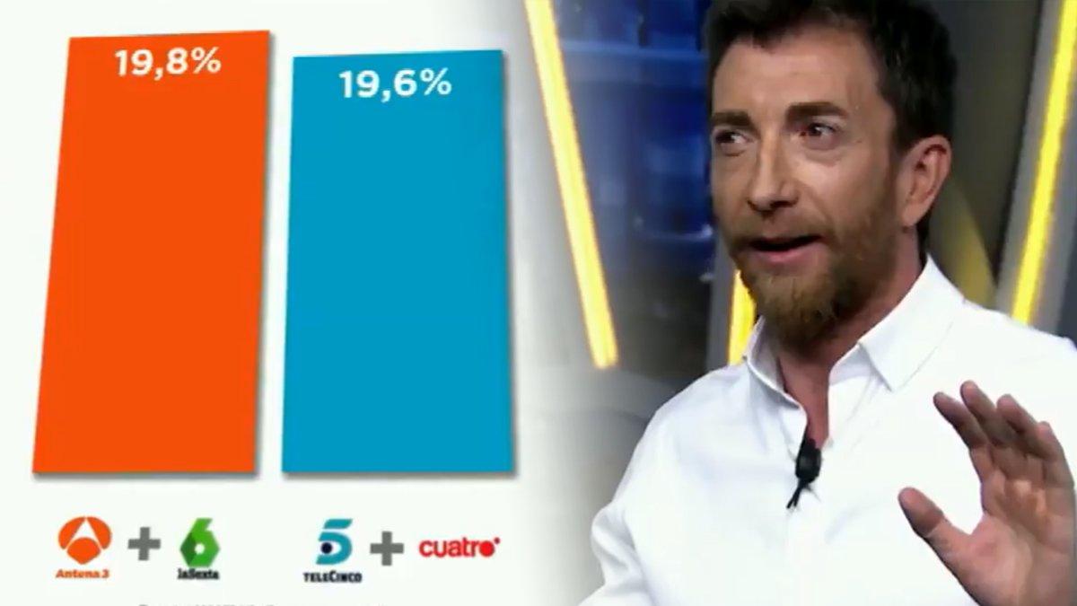 """Atresmedia contraataca a Mediaset en una nueva promo: """"Que no te líen, el dato pone lo que pone"""""""