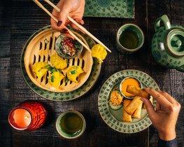 El menú de Boa-Bao, con cinco pases, se sirve hasta el sábado, día 25 de enero.