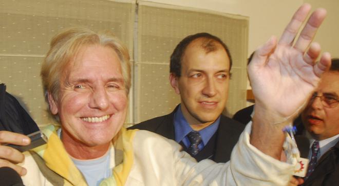 El cantante argentino Sergio Deni en una imagen de archivo.
