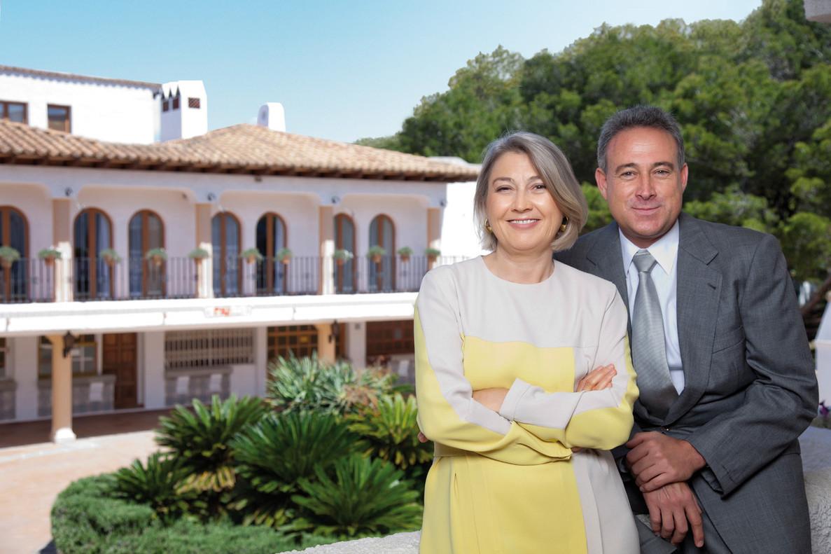 Carmen y Luis Riu, propietarios de Hoteles Riu, en el 2016.