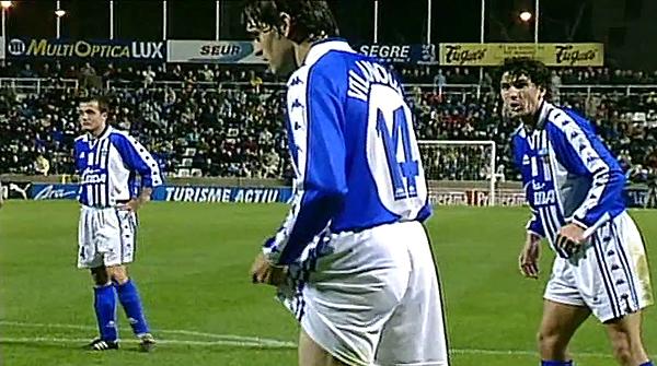 1998. Como jugador del Lleida, Tito marcó un gol al Barça en la Semifinal de la Copa de Catalunya, el primer partido en el que un jovencísimo Mourinho ejerció de entrenador, pues Van Gaal le cedió el protagonismo.