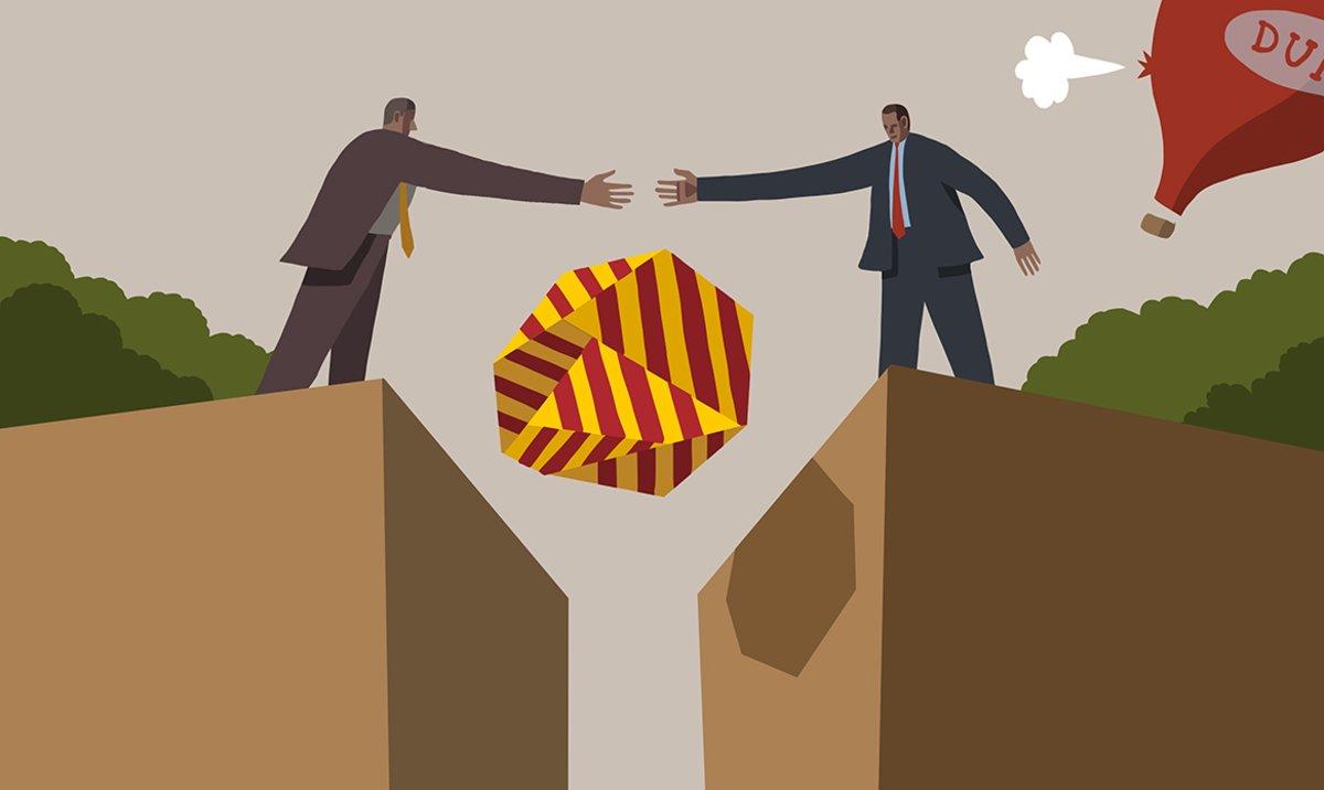 Catalunya vol la negociació