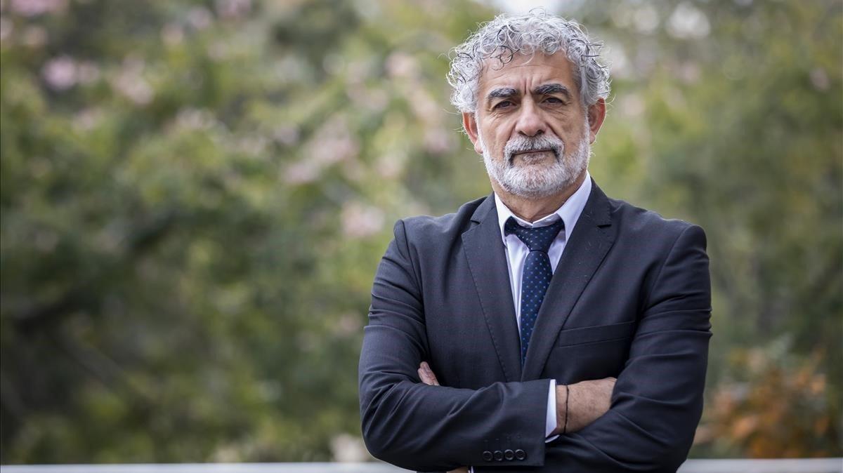 El catedrático de Física de la Tierra José Antonio Sobrino Rodríguez, premio Jaume I 2019 de protección al medioambiente.