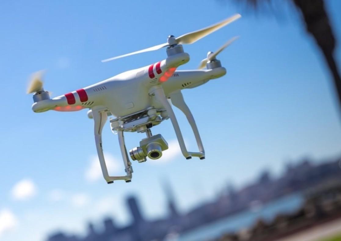 Cinco drones complementaran los servicios de vigilancia aérea habituales