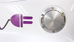 Un coche eléctrico.