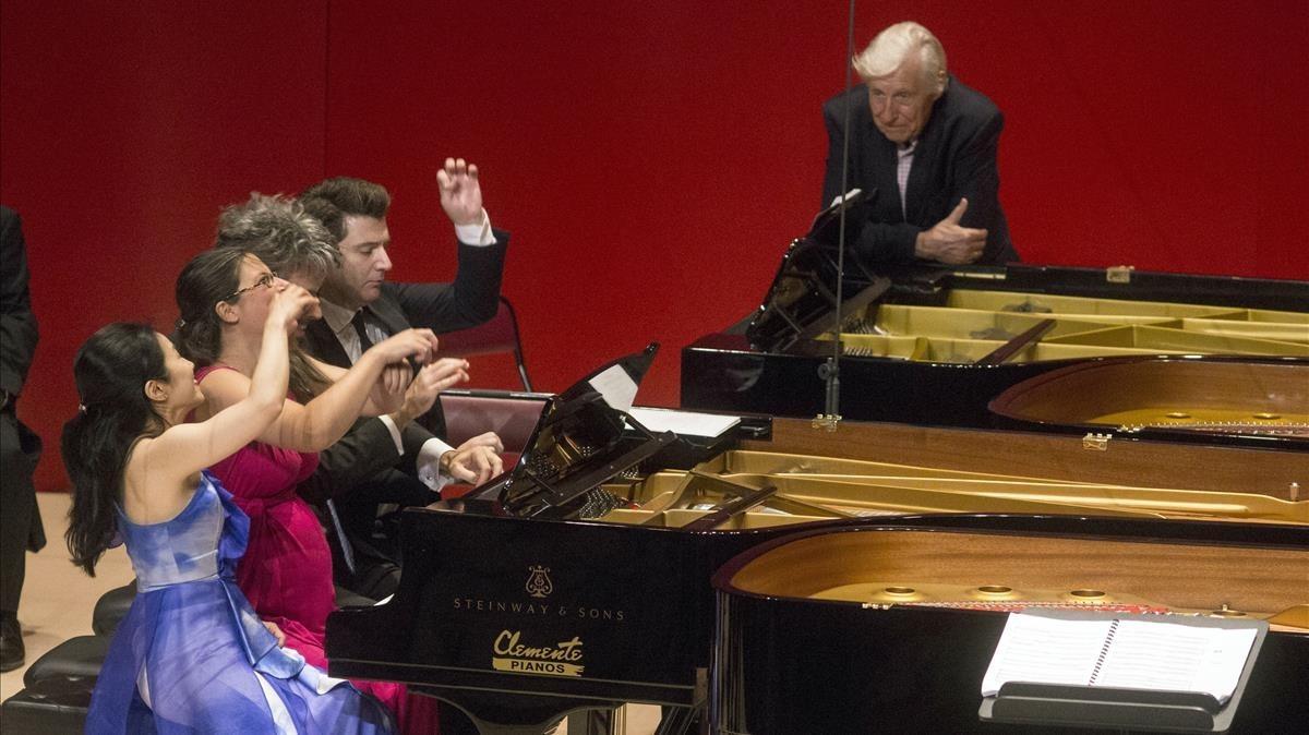 Concierto homenaje a Joaquín Achúcarro en el Festival de Torroella de Montgrí.