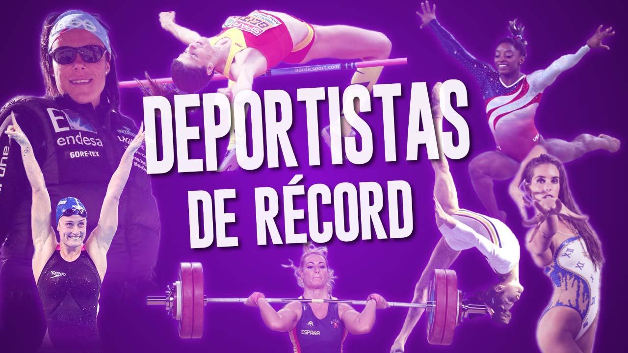 ¿Conoces a estas 10 mujeres deportistas de récord?