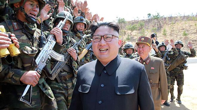 Corea del Norte advierte de que en caso de ataque tomaría medidas de forma despiadada.
