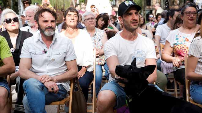 Dani Rovira y Fernando Tejero apoyan a Más Madrid por sus propuestas con los animales.