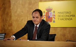 David Vegara, poco antes de dejar su cargo de Secretario de Estado de Economía, en abril del 2009.