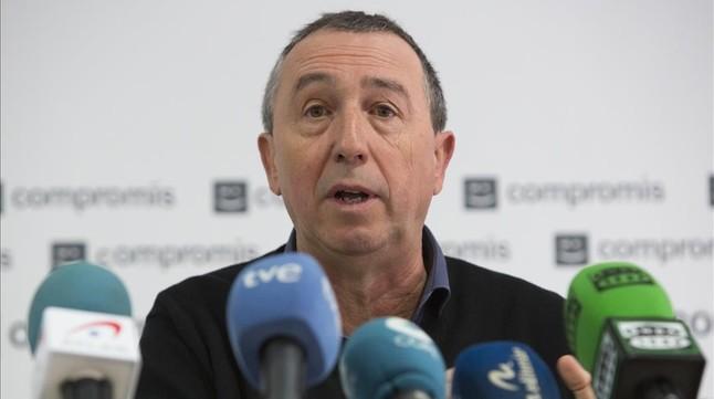 El diputado de Compromís Joan Baldoví.