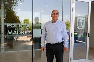 El director de la Policía Municipal de Madrid,Andrés Serrano.