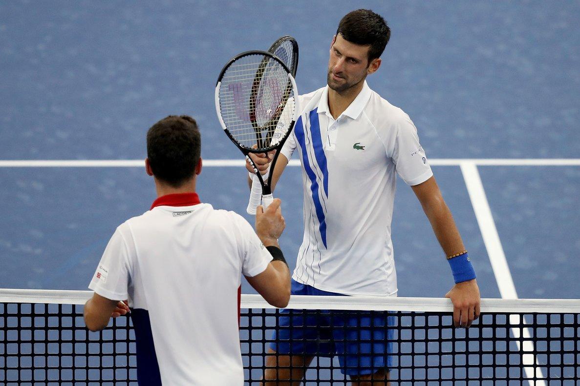 Djokovic Reconoce Que Fue Dificil Vencer A Bautista