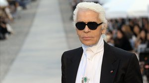 Una imagen de archivo de Karl Lagerfeld.
