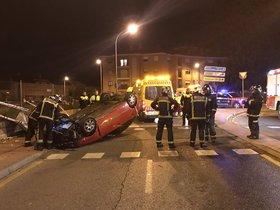 Un cotxe atropella a Madrid sis persones després de xocar contra un semàfor