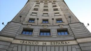 Edificio del Banco de España, en Barcelona.