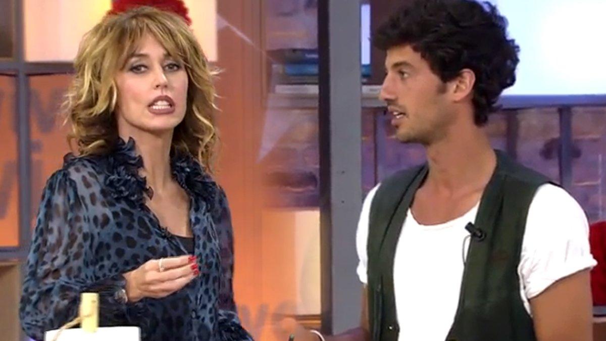 El cabreo de Jorge Brazález con Emma García al preguntarle por su boda con  Miri