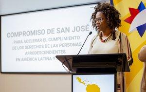 Epsy Campbell,vicepresidenta de Costa Rica.