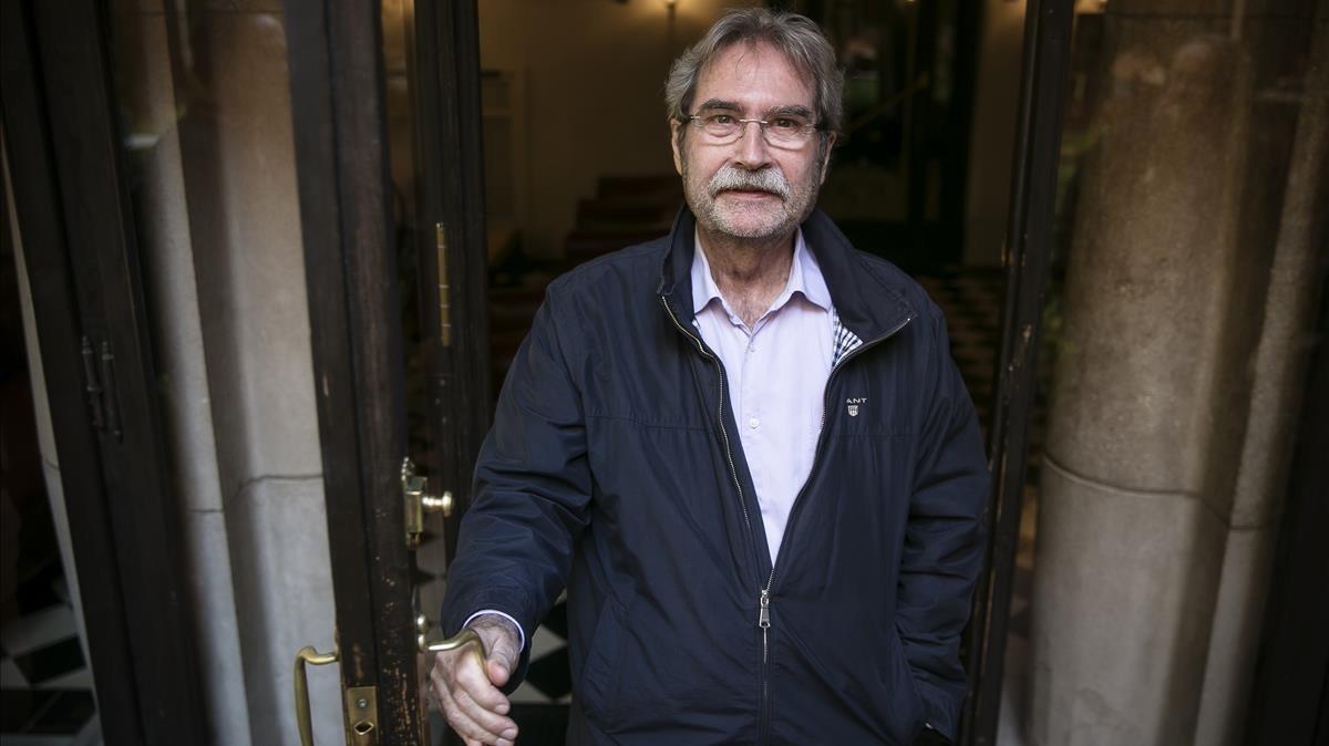 El escritor Jaume Cabré.