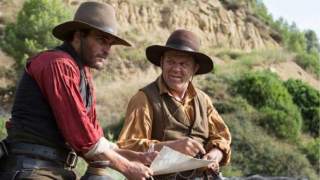 'Los hermanos Sisters': el 'western' no mor mai