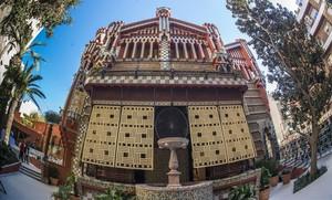 Fachada de la Casa Vicens.