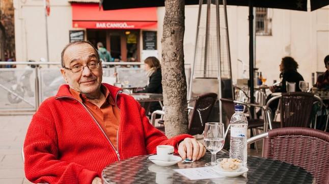 El Pare Manel, en la de Canigó.
